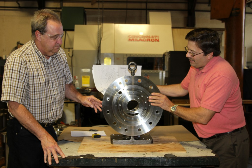 Employees Of CNC Machining Company Image - Dechert Dynamics Corporation