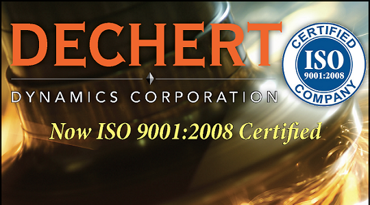 ISO 9001:2008 Certified CNC Machining Company Image - Dechert Dynamics Corporation